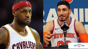 News video: Enes Kanter is Going to REGRET Talking Sh!t About LeBron James