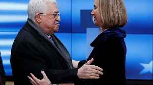 News video: Abbas asks EU to recognise Palestinian statehood