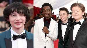 News video: Stranger Things' Finn Wolfhard Skipped SAG Awards for THIS Reason