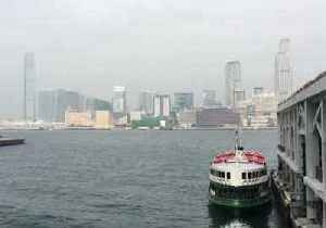 News video: Smog Clouds Hong Kong's Victoria Harbour