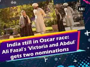 News video: India still in Oscar race: Ali Fazal's 'Victoria and Abdul' gets two nominations