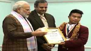 News video: Modi Presents Bravery Awards