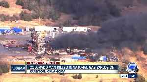 News video: Colorado man among 5 missing gas rig workers recovered in Oklahoma