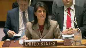 News video: UN: deadlock over use of chemical weapons in Syrian civil war