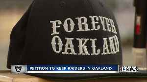 News video: Oakland fans pursue last-ditch lawsuit to keep Raiders