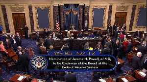 News video: Senate confirms Powell as next Federal Reserve chairman