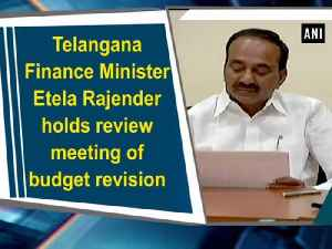 News video: Telangana Finance Minister Etela Rajender holds review meeting of budget revision