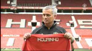 News video: Mourinho signs contract extention at Man United until 2020