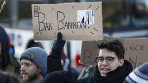 News video: Protests spark at U. of C. after a professor invited Steve Bannon to campus debate