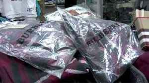 News video: Counterfeit Goods Cache Uncovered In East New York