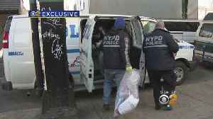 News video: Exclusive: Counterfeit Coats Bust In Brooklyn