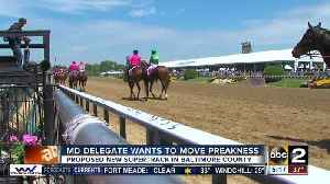 News video: Maryland Delegate Pat McDonough wants to bring Preakness to Baltimore County