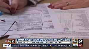 News video: Maryland analysis on federal tax overhaul released