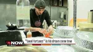 News video: He put the brakes on his food truck to open a restaurant