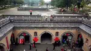 News video: Drone footage shows 4,000-year-old community living underground in China