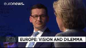 News video: Key moments from Euronews' special debate at the World Economic Forum