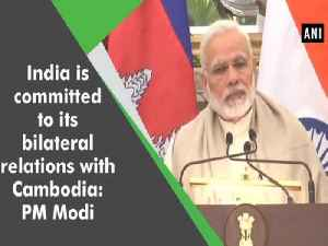 India is committed to its bilateral relations with Cambodia: PM Modi [Video]