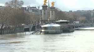 News video: Paris river surges to record levels as heavy rainfall threatens flooding