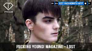 News video: Jarryn Charles Smith in LOST for Fucking Young! Magazine by Diego Ricci   FashionTV   FTV