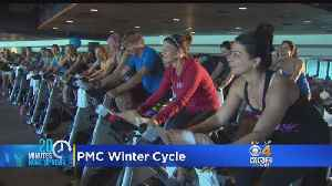 News video: Pan Mass Challenge Winter Cycle At Fenway Park Draws 1,000 Riders