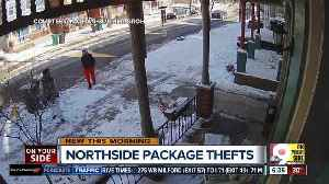 News video: Northside neighbors share info in search of package thieves