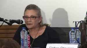 News video: Carrie Fisher Wins Grammy Award Posthumously