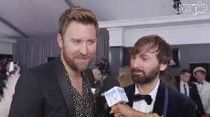 News video: The Men Of Lady Antebellum: Attending The Grammys Without Pregnant Hillary Scott Is 'So Weird'