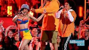 News video: Bruno Mars & Cardi B Brought a Funk Party to the 2018 Grammys With 'Finesse' Performance | Billboard News