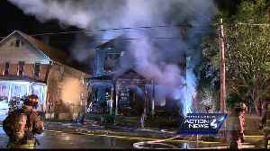 News video: Fire tears through Butler home, leaving woman and man dead