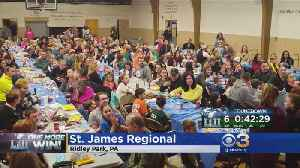News video: St. James Regional Gives Singing Fly, Eagles, Fly