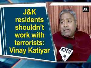 News video: J and K residents shouldn't work with terrorists: Vinay Katiyar