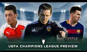 News video: Can Arsenal survive? | Champions League Previews