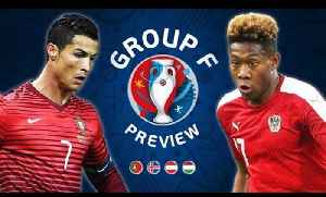 News video: EURO 2016 Group F Preview | Portugal, Hungary, Iceland & Austria