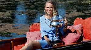 News video: Caroline Wozniacki Booked A First Class Plane Ticket For Her Trophy