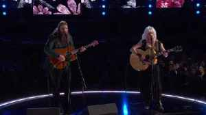 News video: 'Wildflowers' LIVE From The 60th GRAMMYs