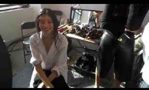 News video: Grazia360: Through Our Eyes At Michael Kors Backstage With Ming Xi| Grazia UK