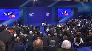 News video: Russia's Putin admits doping usage cases at Sochi Olympics