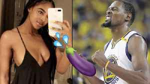 News video: Kevin Durant Hooking Up with Real Estate Baddie Cassandra Anderson