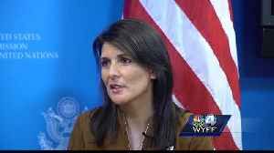 News video: Haley: South Korea will have 'security overload' during Olympics