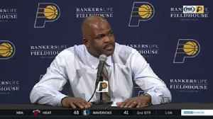 News video: McMillan on Pacers' win over Hornets: 'It was a battle of tempos'