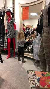 News video: 3-year-old hilariously caught dancing in front of mirror