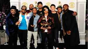 News video: Bruno Mars Sweeps Grammys With 7 Wins