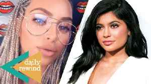 News video: Kim Kardashian SHADES Haters Over Her Braids, Kylie Jenner SCARED of Giving Birth -DR