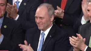 News video: President Trump pays tribute to Rep. Steve Scalise, first responders