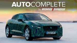 News video: AutoComplete: Jaguar's electric I-Pace can charge its battery in a hurry