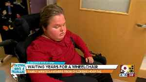 News video: Houston, I Have a Problem: Waiting years for a wheelchair