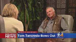 News video: Tom Tancredo Withdraws From Governor's Race