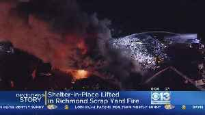 News video: Shelter-In-Place Order Lifted Following Richmond Scrap Metal Fire