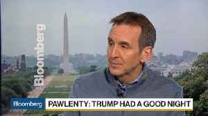 News video: Pawlenty Says It Was a 'Good Night' for Trump