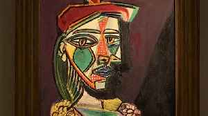 News video: Picasso work on Asia tour ahead of London auction